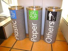 Public Space | recycle containers