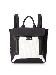 CXL by Christian Lacroix Women's Chartres Backpack, Black/White, http://www.myhabit.com/redirect/ref=qd_sw_dp_pi_li?url=http%3A%2F%2Fwww.myhabit.com%2Fdp%2FB00Q6BHER4