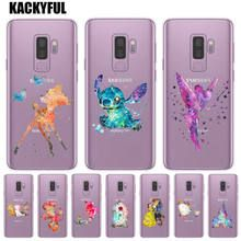 Sneeuwwitje Tinker Bell Stitch Silicone Telefoon Case Voor Coque ...
