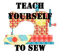 For Sewing Beginners: Teach Yourself to Sew - Tutorial Yes, i want to learn to sew so bad.need to get a sewing machine! Sewing Hacks, Sewing Tutorials, Sewing Patterns, Sewing Tips, Sewing Lessons, Basic Sewing, Online Tutorials, Techniques Couture, Sewing Techniques