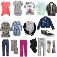 Girls' Capsule Wardrobe