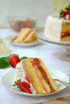 """Grazie Pane, burro e alici: Torta farcita ... """"old-fashioned""""...finalmente una torta """"come una volta"""""""