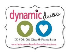 Dynamic Duos: Dynamic Duos #69 {Bright Blue and Green!}