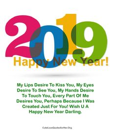 best new year 2019 love quotes