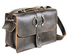 Ordinateur portable sac grande taille sac sac besace en cuir
