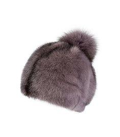 Шапка из меха норки и песца SLAVA FURS 159376000 в Краснодаре, заказать в интернет магазине все размеры, цена с фото в Москве