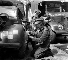 Princess Elisabeth served as a driver and a mechanic during WWII. The future Queen Elizabeth was the first female member of the British Royal Family to serve in the military.