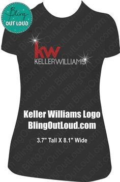 NEW Keller Williams Realty Realtor Logo Rhinestone. Real Estate Branding, Real Estate Logo, Real Estate Sales, Sales And Marketing, Real Estate Marketing, Direct Marketing, Commercial Realtor, Real Estate Career, Realtor Logo