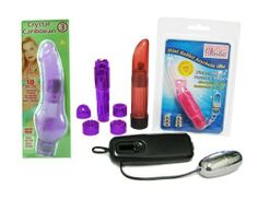 "Crystal Caribbean #3 Purple ""Venla Bundle"" Adult Toy Sex Kit by Golden Triangle. $44.73. Includes a Crystal Clear Vibrator Massager $19.99 Retail Value! Discreet choice for women who want a travel-size, cordless vibrator. It delivers stimulating vibrations in variable speeds and still fits into a makeup case. (Colors and Styles May Vary). Crystal Caribbean #3 Purple. Includes a Venla Mini Rabbit Keychain Vibrator ($24.99 Retail Value!) with Ultra Powerful Vibrating ..."