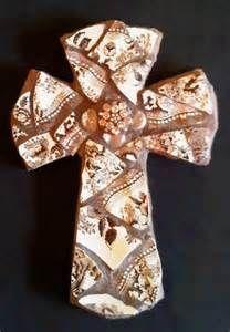 cross mosaic pattern
