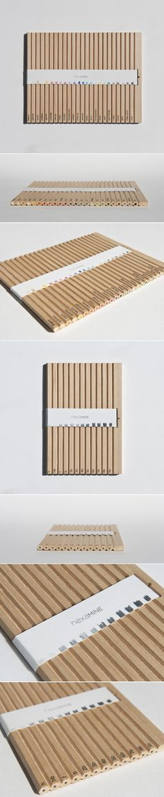 Student: Hexamine Pencils — The Dieline - Branding & Packaging Design - created via https://pinthemall.net