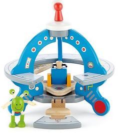 Hape Wooden UFO Playset with Friendly Alien and Accessories Wooden Puzzles, Wooden Toys, Ufo, Kids Toys Online, Hape Toys, Garage, Best Kids Toys, Toys Shop, Imaginative Play