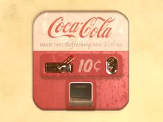 vintage Coca-Cola Machine Icon