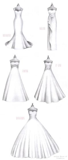 Discover the right #wedding dress style for your body!
