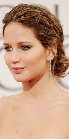 Golden Globes mean lots of Up Do Inspiration