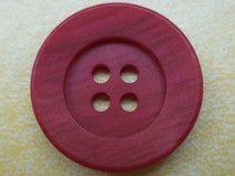 10 rote Knöpfe 21mm (6554-4)Jackenknöpfe Knopf rot