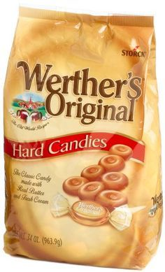 Werther's Original Hard Candies ~ Love these little morsels of yummy buttery toffee.