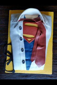 Clark Kent/Superman Cake