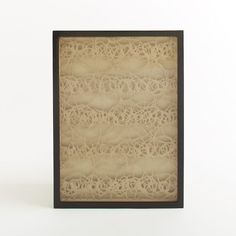 $179.00 30'wide x22'long Handmade Paper Wall Art - Beige | west elm