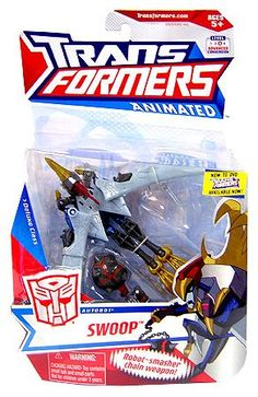 Transformers Animated Deluxe Figure Swoop >>> More info could be found at the image url.