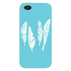 iphone case with feathers