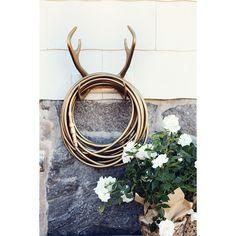 Delux Reindeer veggfeste, gull – Garden Glory – Kjøp møbler online på ROOM21.no