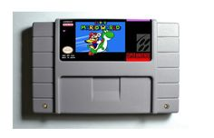 Super Mario World SNES 16-Bit Game Reproduction Cartridge USA NTSC Only English Language w/ Save Function (Tested Working)  (Please take note that this item is coming from Hong Kong, China and delivery takes 11 to 24 working days)  Description:...