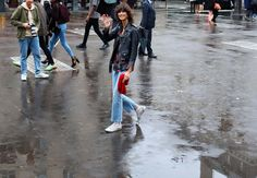 Phil Oh's Best Street Style Pics From the Paris Haute Couture Shows City Style, Style Me, Aimee Song, Jeanne Damas, Summer Denim, White Books, Model Street Style, Couture Week, Alberta Ferretti