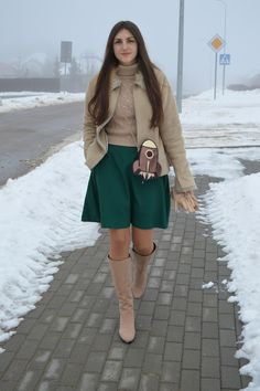 www.streetstylecity.blogspot.com  Fashion inspired by the people in the street ootd look outfit sexy high heels legs woman girl skirt miniskirt boots