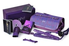 """If I was Oprah and had a """"My Favourite Things"""" show, you would all be walking home with the amazing GHD hair straigtner kit. I can't live without mine. Ghd Iv Styler, Ghd Hair, Straight Hairstyles, Usb Flash Drive, My Favorite Things, Gifts, Bags, Shopping, Oprah"""
