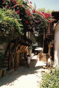 Cyprus. Old Nicosia. My Dads home town