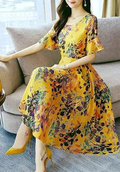 Fantastic women dresses are offered on our web pages. Have a look and you wont be sorry you did. Dress Outfits, Casual Dresses, Fashion Dresses, Summer Dresses, Summer Maxi, Dress Clothes, Boho Dress, Dress Skirt, Frock Patterns