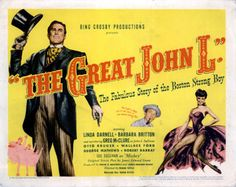 The Great John L. - USA (1945) Director: Frank Tuttle