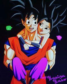 Goku y caulifla