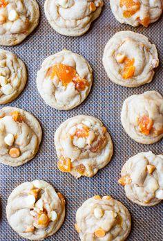 Apricot Butterscotch Cookies - with Peanut Butter Buttercream option for sandwich cookies