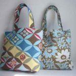 Ανόρθωση βλεφάρων: Ένα σπιτικό σέρουμ για τα μάτια. Μπορούμε να το φτιάξουμε πανεύκολα μόνες μας Toftiaxa.gr Handmade Fabric Bags, Fabric Tote Bags, Amy Butler Fabric, Medium Tote, Purses And Handbags, Girly Things, Fabric Crafts, Fabric Design, Diaper Bag