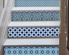 Marrakesh trap uitbreidingskaart decal: 10 strips met 124cm lengte