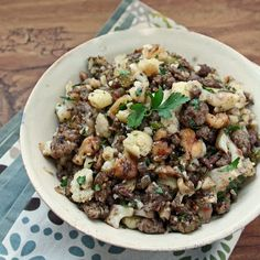 I Breathe. I'm Hungry.: Low Carb & Gluten Free Turkey Stuffing/Dressing// not very stuffing like, but super tasty. It will enter the regular veggie rotation for me. Low Carb Stuffing, Gluten Free Stuffing, Stuffing Recipes, Turkey Recipes, Turkey Stuffing, Sausage Stuffing, Stuffing Casserole, Real Food Recipes, Keto Recipes