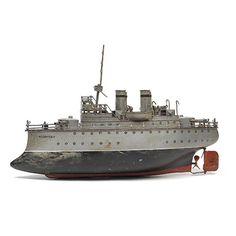 "Marklin Ship ""Radetzky"", c. 1890-1900 TOY"