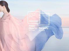 Pantone Farbe des Jahres 2016 Rose Quartz und Serenity