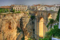 Ronda, Spain - Pueblos Blancos en Andalucia - a day trip from Malaga Andalucia Spain, Malaga Spain, Places To Travel, Places To See, Ronda Malaga, Places Around The World, Around The Worlds, Ronda Spain, Malaga Airport