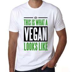 Funny men Vegan  t shirts
