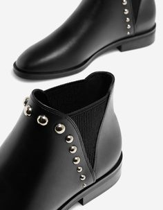 At Stradivarius you'll find 1 Studded low heel ankle boots for just 29.99 United Kingdom . Visit now to discover this and more Jeans.