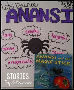 Color Anansi the Spider