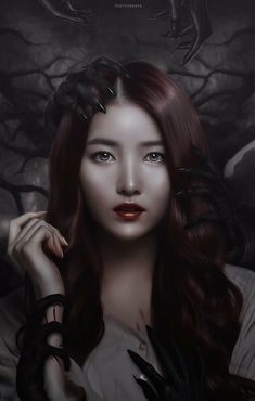 it's coming for you by Riotovskaya on DeviantArt Mamamoo, Girls Generation, Gfriend Sowon, Sad Art, G Friend, Photoshop Cs5, Tumblr Wallpaper, The Good Old Days, Decorating Blogs