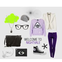 """Welcome to Nightvale 9-24-13"" by superwholockmerfly on Polyvore"