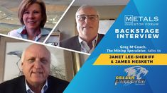 Greg McCoach talks to Janet Lee-Sheriff & James Hesketh at the March 202... Sheriff, Investors, Metals, Interview, March, Youtube, Youtubers, Mac, Youtube Movies