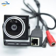 the best 1080P Audio video camera MINI IP camera H.264 microphone camera P2P network for 1.78mm Fisheye Lens Wide Angle Fisheye Lens