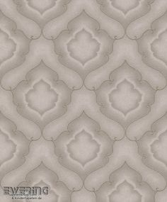 23 225883 Amira Rasch Textil Ornament Taupe Vliestapete