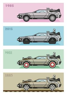 The evolution and travels of the De Lorean
